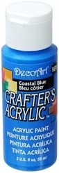Coastal Blue - Deco Art 59ml Crafters Acrylic -