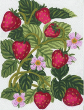 Tapestry Kit: Strawberries