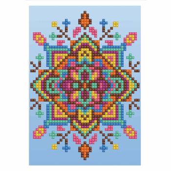 Diamond Painting Kit: Greeting Card Kit: Blue Star