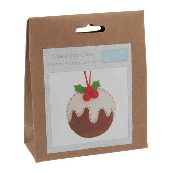 Felt Decoration Kit: Christmas: Christmas Pudding