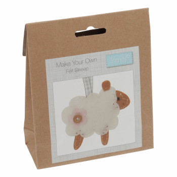 Felt Decoration Kit: Sheep