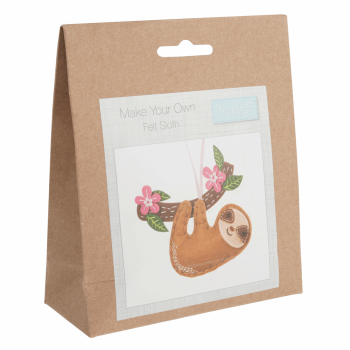 Felt Decoration Kit: Sloth