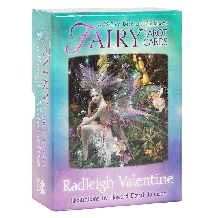 Fairy tarot card deck by Radleigh Valentine