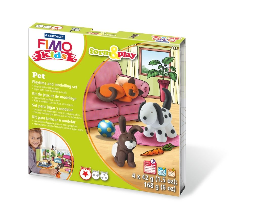 FIMO PETS FORM & PLAY SET