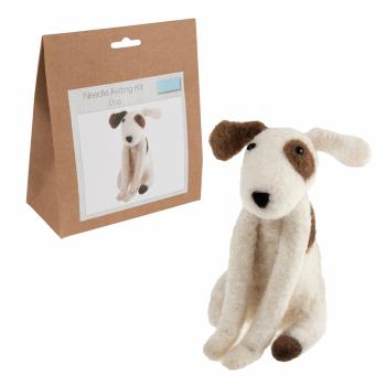Needle Felting Kit: Dog