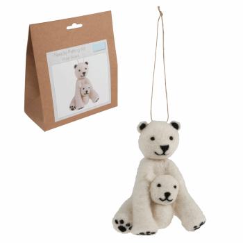 Needle Felting Kit: Polar Bear