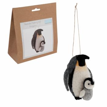 Needle Felting Kit: Penguins
