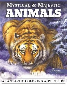Mystical & Majestic Animals Colouring Book