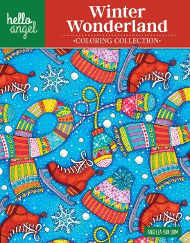 Hello Angel Winter Wonderland Colouring Book