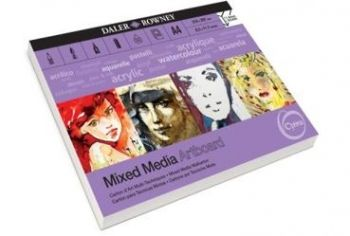 Daler Rowney A4 OPTIMA MIXED MEDIA PAD 10