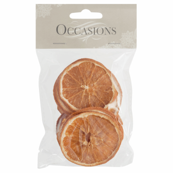 Dried Orange Slices: 10 Pieces