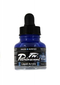 SKY BLUE 29.5ml PEARLESCENT INK DR FW