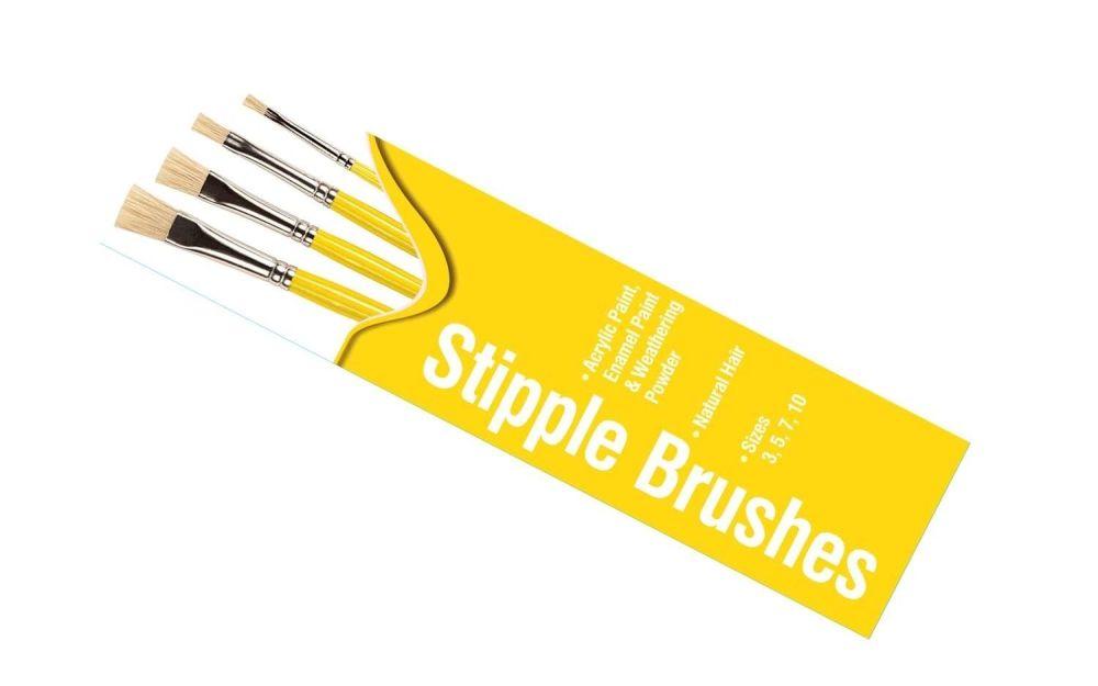 Stipple Brush Pack by Humbrol