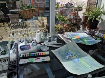 Intro to Watercolour & Pigment Powders