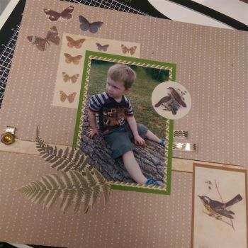 Intro to scrapbooking