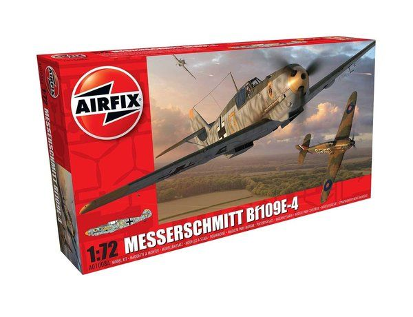 Messerschmitt Bf109E-4 by Airfix