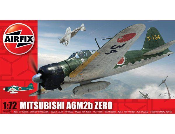 Mitsubishi A6M2b Zero by Airfix