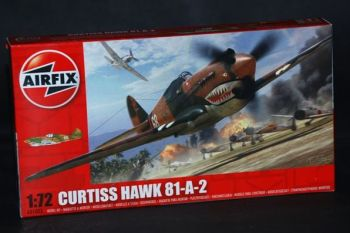 Curtiss Hawk 81-A-2 by Airfix