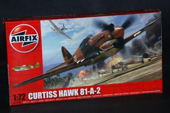 Curtiss Hawk 81-A-2 by Airfix