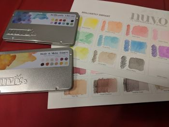 Watercolour Pencils - Product testing session