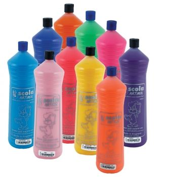Artmix - Colbalt Blue Ready Mix Poster Paint 600ml
