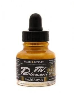 MAZUMA GOLD 29.5ml PEARLESCENT INK DR FW