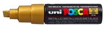 Gold POSCA BROAD CHISEL TIP PC-8K ((8.0mm)