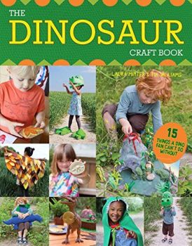 The Dinosaur Craft Book by Laura Minter