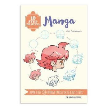 10 Step drawing Manga