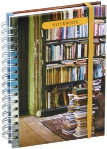 At Home with Books Mini Notebook