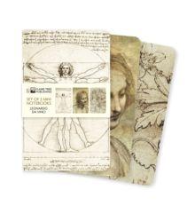 Leonardo da Vinci Mini Notebook Collection by Flame Tree Studio