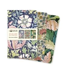 William Morris Mini Notebook Collection by Flame Tree Studio