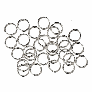 Jump Rings: Silver: 5mm