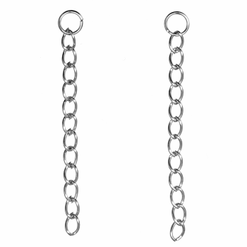 Necklace Extenders: Silver