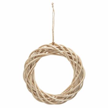 Wreath Base: Light Willow: 25.5cm/10in