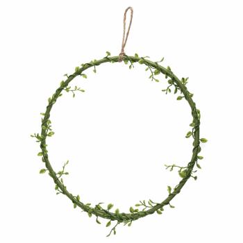 Wreath Base: Green Vine: 25.5Cm/10in