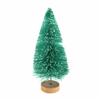 Decoration: Frosted Christmas Tree: 10cm: 1 Piece