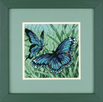 Needlepoint Kit: Mini: Butterfly Duo