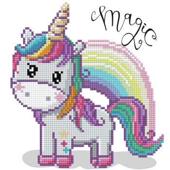 Diamond Painting Kit: Magic Rainbow
