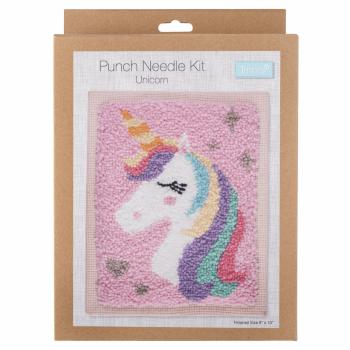 Punch Needle Kit: Unicorn