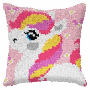 Latch Hook Kit: Cushion: Small: Pony