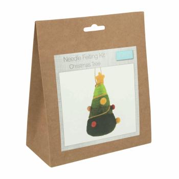 Needle Felting Kit: Christmas Tree