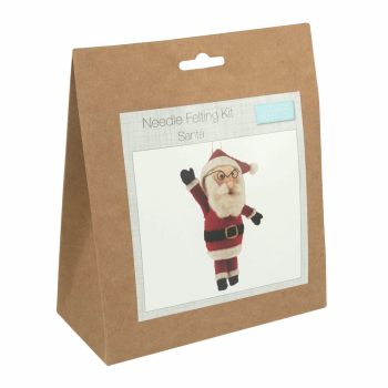 Needle Felting Kit: Santa