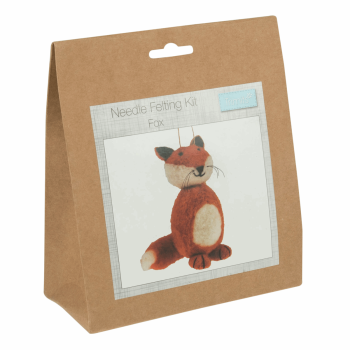 Needle Felting Kit: Fox