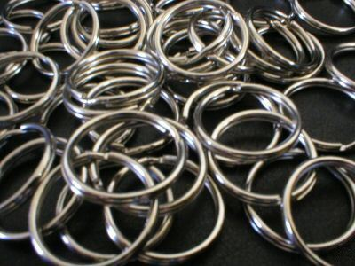 Split Rings (Keyrings) 10mm