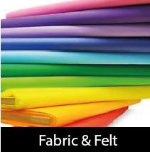 Fabric, Foam & Felt