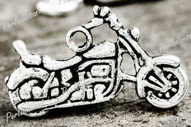 Vintage Fashion Motorcycle/ Motorbike Charm