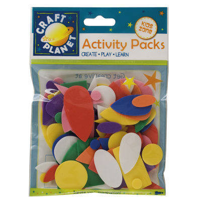 Foam Shapes - Assorted colours