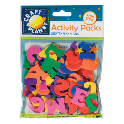 Foam Letters - Assorted colours