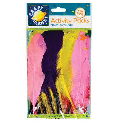 Duck Quill Feathers (7g) - Assorted Colours